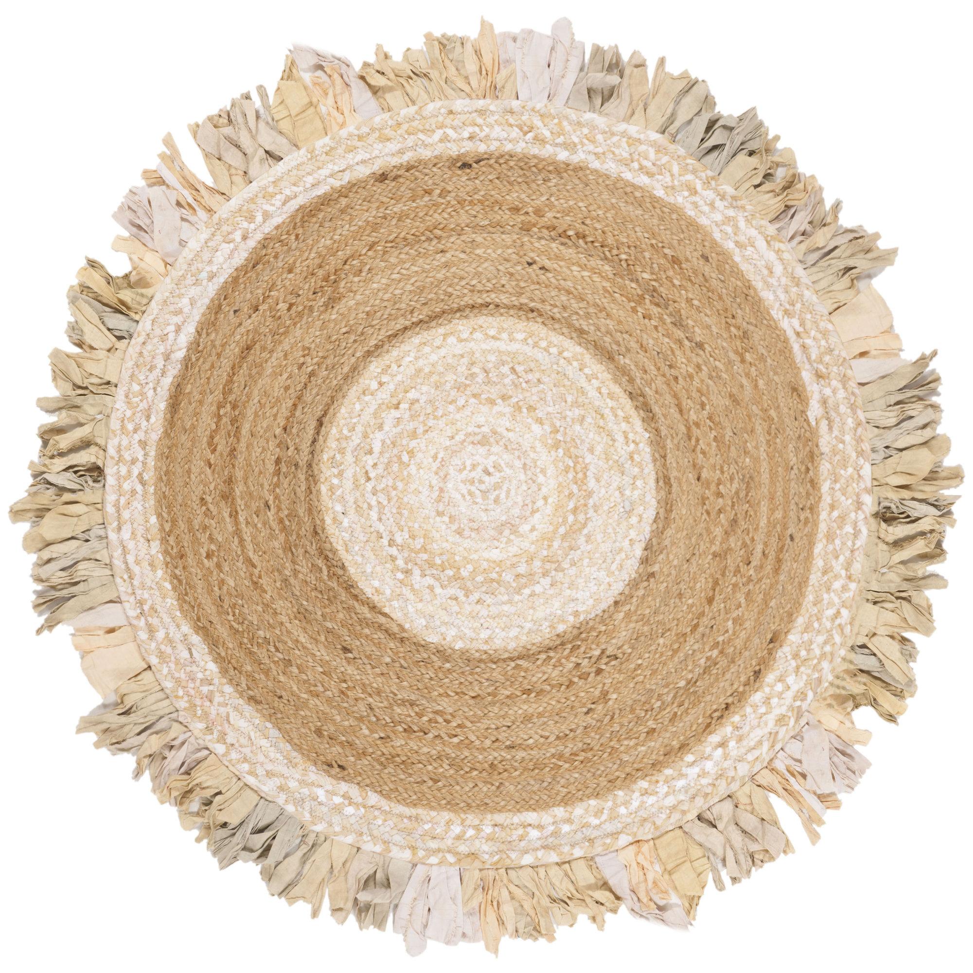Highland Dunes Round Jaziel Handmade