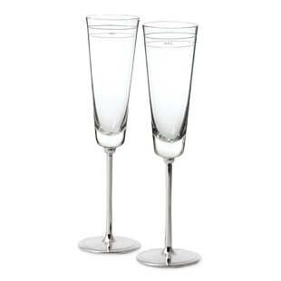 Darling Point 2 Piece Champagne Flute Set
