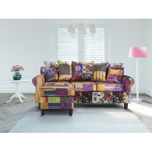Tammie Patchwork Reversible Modular Corner Sofa By Latitude Vive