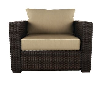 Darby Home Co Bergin Patio Chair with Cus..