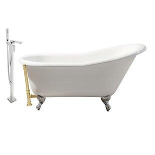 Streamline Bath Cast Iron 60