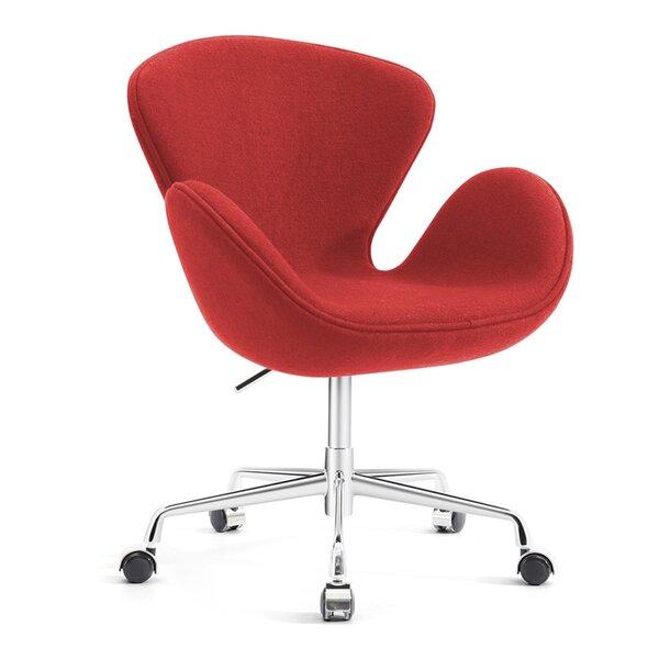 Admirable Mid Century Modern Red Chair Wayfair Unemploymentrelief Wooden Chair Designs For Living Room Unemploymentrelieforg