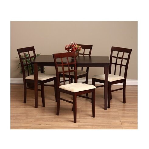 Genial Justin 7 Piece Dining Set