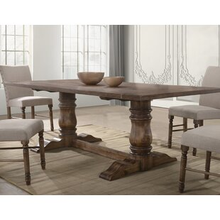 Nevada Solid Wood Dining Table Gracie Oaks