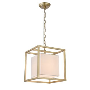 Robledo 1-Light Square/Rectangle Pendant by Wrought Studio