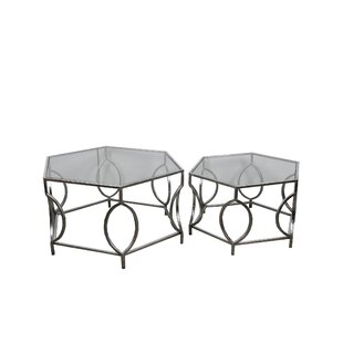 Mac 2 Piece Coffee Table Set by House of Hampton