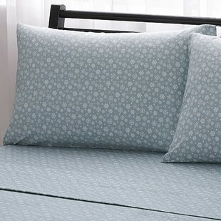 Snowflake 100% Cotton Flannel Sheet Set