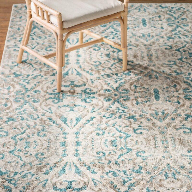 Feizy Keats Turquoise Area Rug Reviews Wayfair