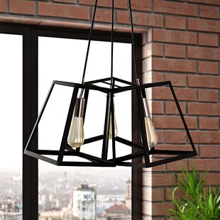 Mcdonagh 3-Light Cluster Pendant by Ivy Bronx