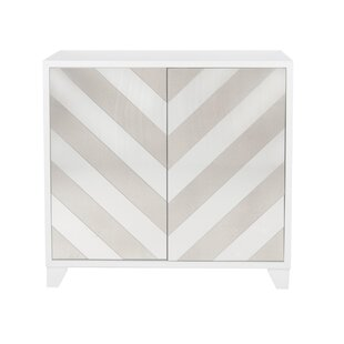 Contrast Mirror 2 Door Accent Cabinet by Willa Arlo Interiors