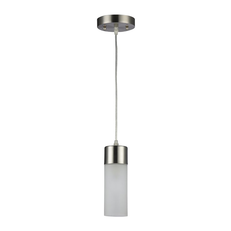 Zipcode Design  Sanni 1-Light Cylinder Pendant