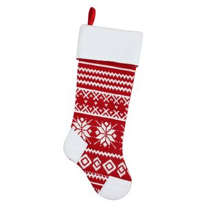 Alpine Chic Christmas Stocking