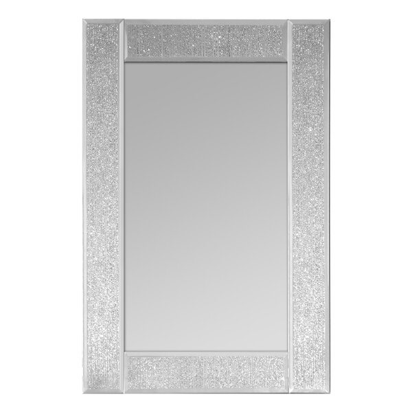 Rectangular Wall Mirror selectionschaumont glitter ascot rectangle wall mirror