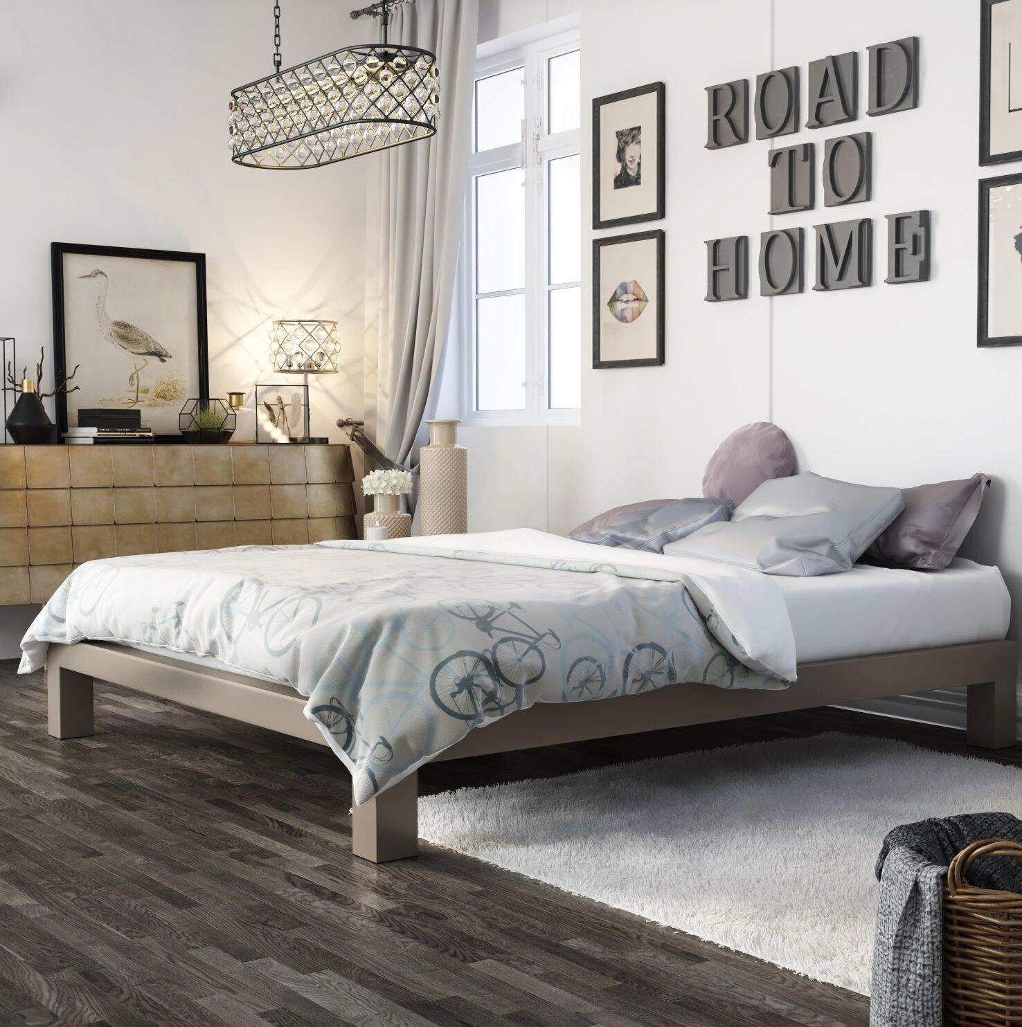 In Style Furnishings Stella Bed Frame U0026 Reviews | Wayfair