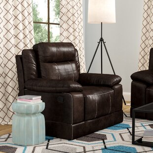 Inexpensive Rindham Leather Manual Rocker Recliner by Red Barrel Studio Reviews (2019) & Buyer's Guide