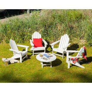 Long Island Adirondack 5-Piece Conversation Group