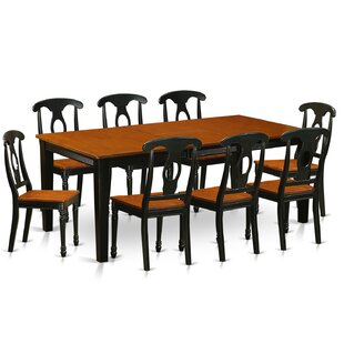 Pilger Modern 9 Piece Dining Set August Grove