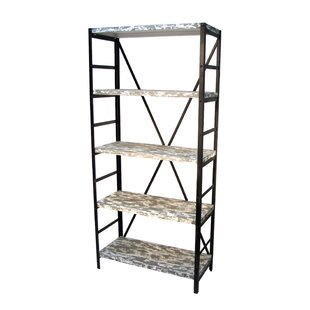 Prairie Home 5 Tier Etagere Bookcase by Wilco Home Find