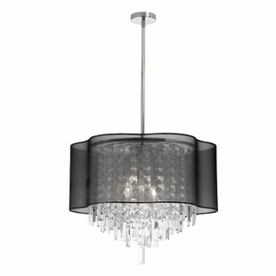 Illusion 6-Light Chandelier by Radionic Hi Tech