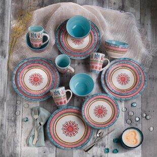 Merille 16 Piece Dinnerware Set, Service for 4