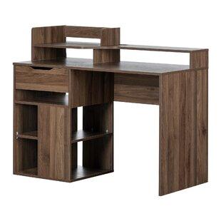 Holland Credenza desk with Hutch