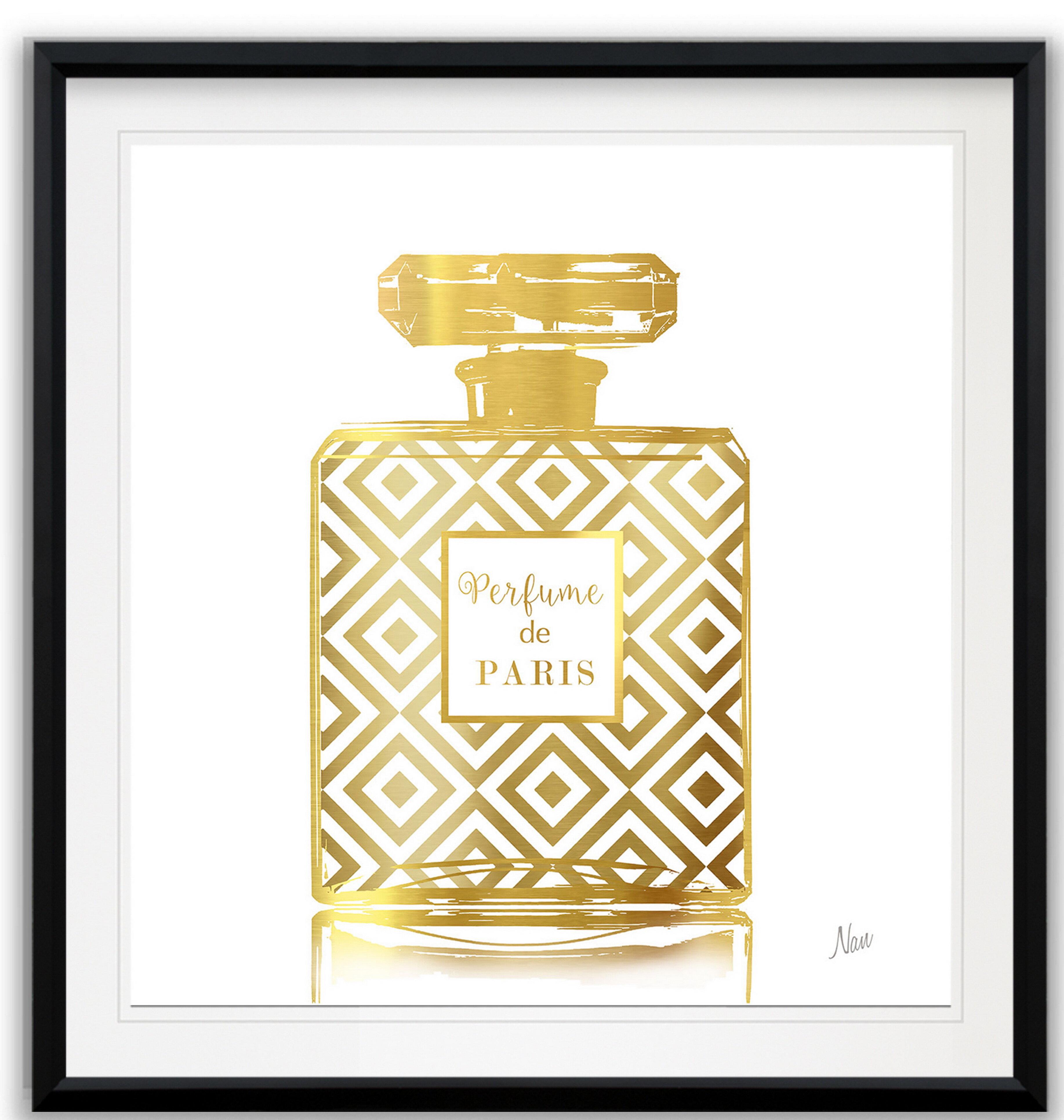 House Of Hampton Perfume De Paris Ii Framed Print Wayfair