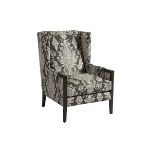 Stratton Wingback Chair by Barclay Butera Great Reviews