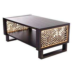 Mercury Row Mccune Geometric Coffee Table