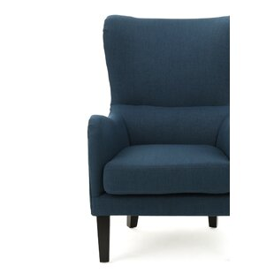 Hemlock Wingback Chair by Ebern Designs