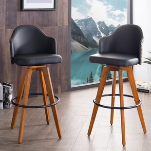Find a Lennon 29.72 Swivel Bar Stool (Set of 2) by Langley Street Reviews (2019) & Buyer's Guide