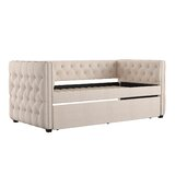 Ghislain Twin Daybed with Trundle by House of Hampton®