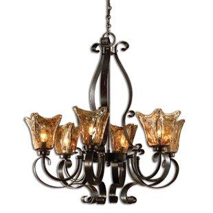 Astoria Grand Constantine 6-Light Shaded Chandelier