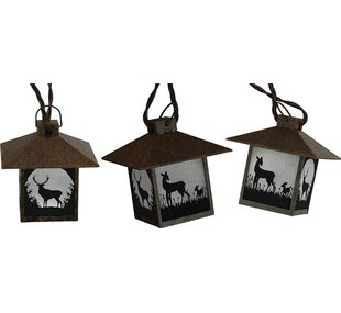 Bateman Deer 10 ft. 10-Light Novelty String Light