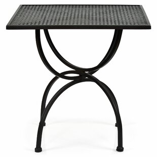 Gere Wrought Iron Bistro Table Image
