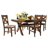 Warsaw 5 Piece Extendable Dining Set by Alcott Hill®