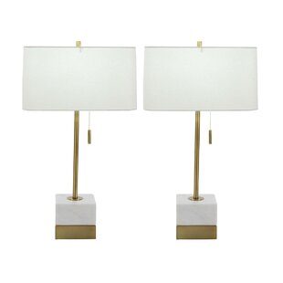 Algere Marble 28 Table Lamp (Set of 2)
