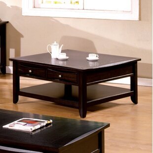 Steer Square Coffee Table With Storage by Latitude Run