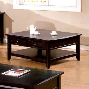 Steer Square Coffee Table with Storage Latitude Run