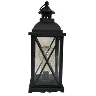 Compare prices Kaneville Battery-Operated 1-Light LED Indoor Hanging Lantern By Charlton Home