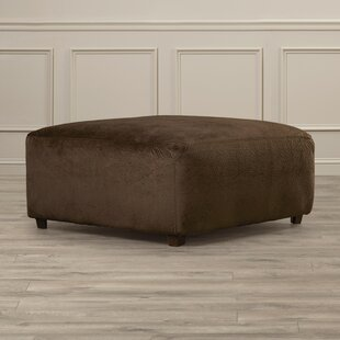 Wellins Cocktail Ottoman by Charlton Home