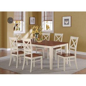 cherry dining room set. Loraine 7 Piece Dining Set Cherry Kitchen  Room Sets You ll Love Wayfair