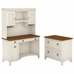 Darby Home Co Carroll 3 Piece Rectangular Desk Office Suite