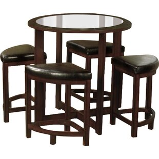 Landaverde 5 Piece Dining Set Millwood Pines