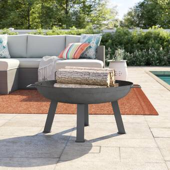 Curonian Parnidis Stainless Steel Wood Burning Fire Pit