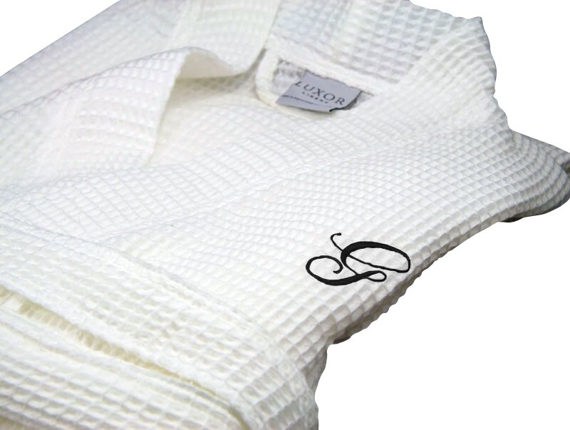 e924bb01c8 Luxor Linens Giovanni Spa Egyptian-Quality Cotton Bathrobe   Reviews ...