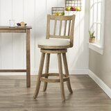 Appomattox Swivel Bar & Counter Stool by Three Posts
