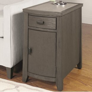 Dunhill End Table with Storage by Breakwater Bay