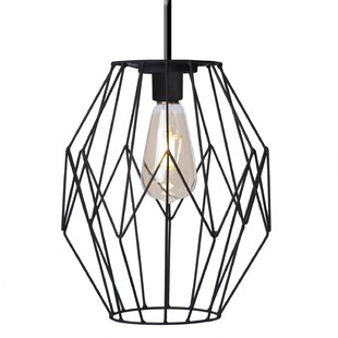 LED 1-Light Geometric Pendant