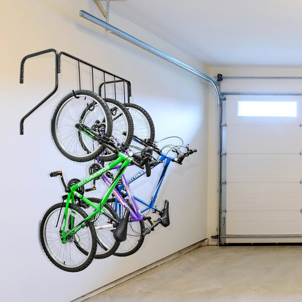 Wall Scratch Resistant Hook Hanger Mountain Bike Bicycle Scooter Display Rack Black Bike Stand