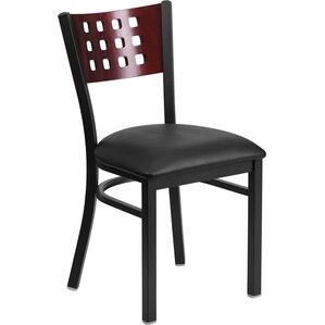 Chafin Modern Solid Back Side Chair by Winston Porter